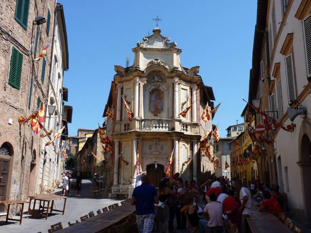 Церковь Девы Марии Розарии в Сиене