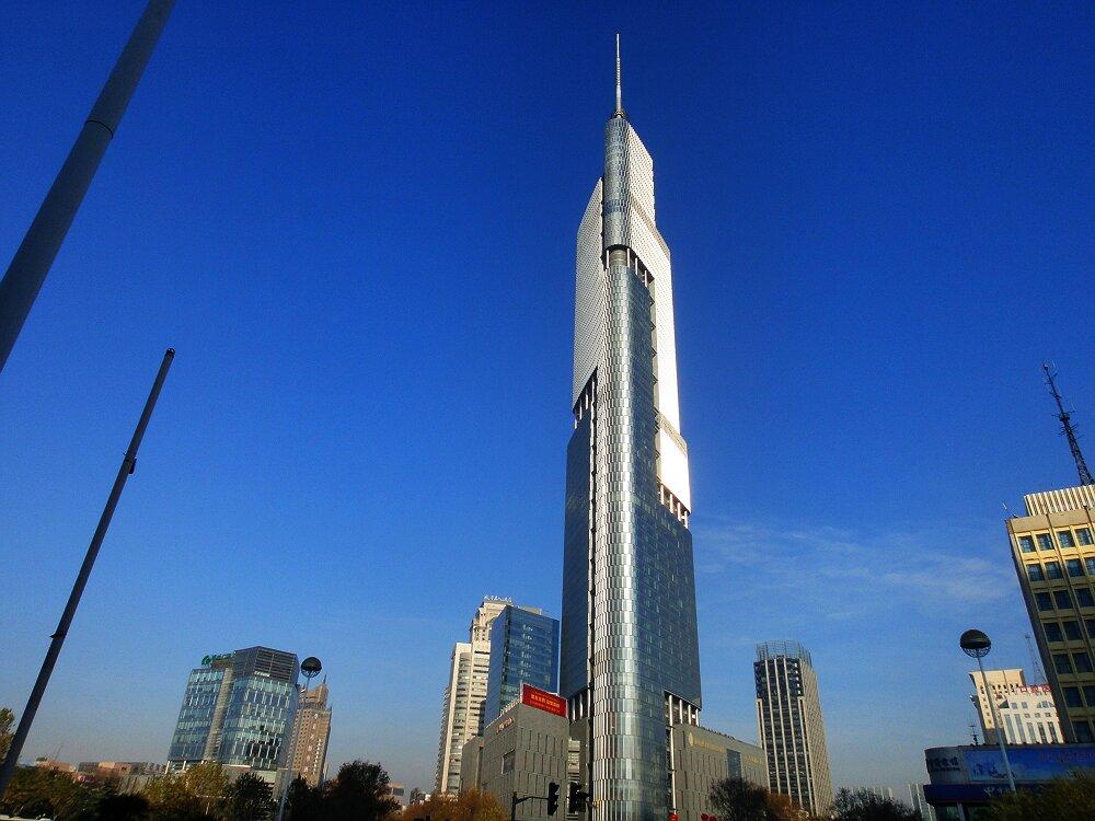 Финансовый центр Наньцзин-Гринлэнд в Нанкине