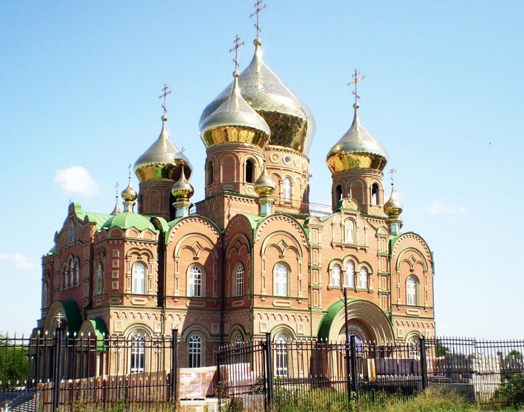 Свято-Владимирский собор Луганска