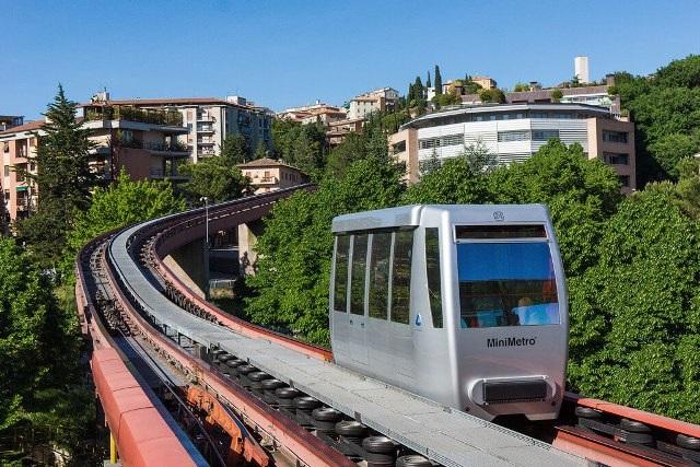Мини-метро в Перудже
