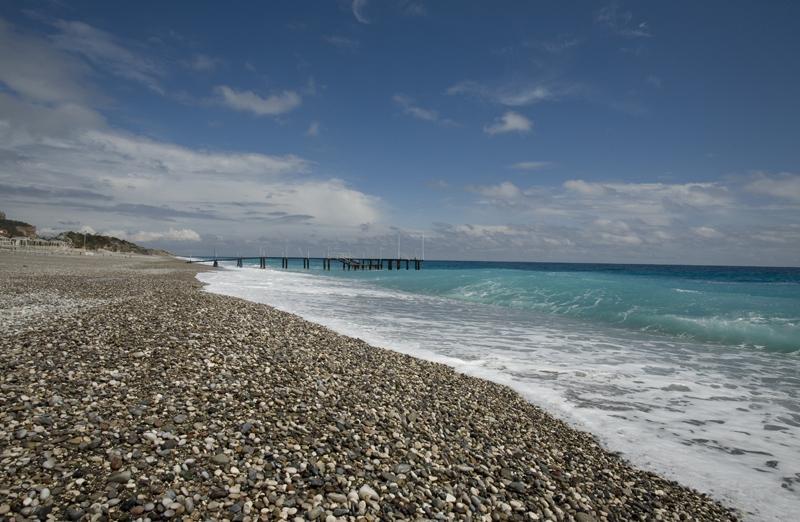 Пляж Кириш близ Кемера, Турция