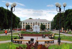 Город Гомель в Белоруссии