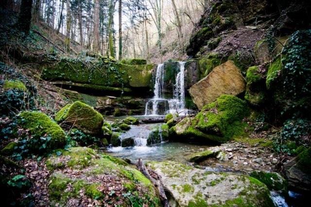 Адов водопад близ Горячего Ключа