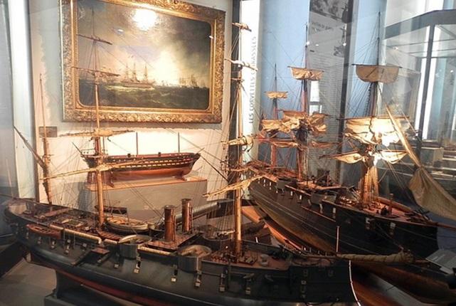 Музей мореплавания в Сен-Мало