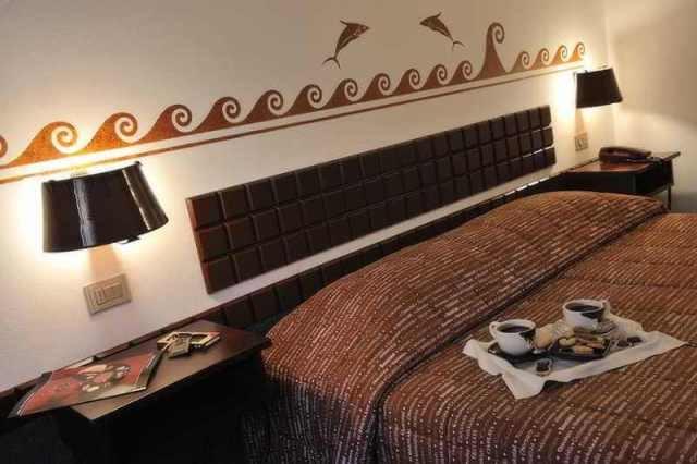 Шоколадный отель «Etruscan Chocohotel» в Перудже