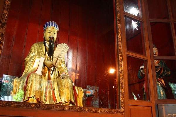 Храм Ухоу близ Чэнду