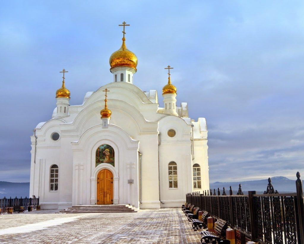 Храм Серафима Саровского в Златоусте