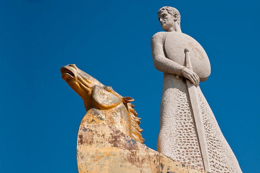 Монумент королю Хайме в Салоу