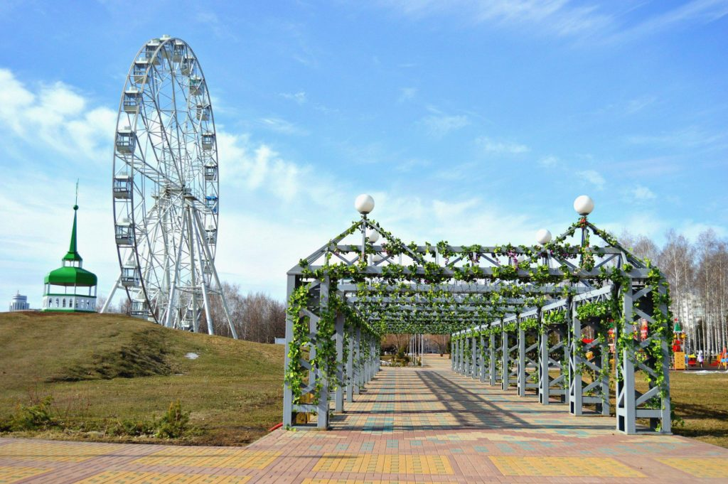 Парк культуры и отдыха в Набережных Челнах