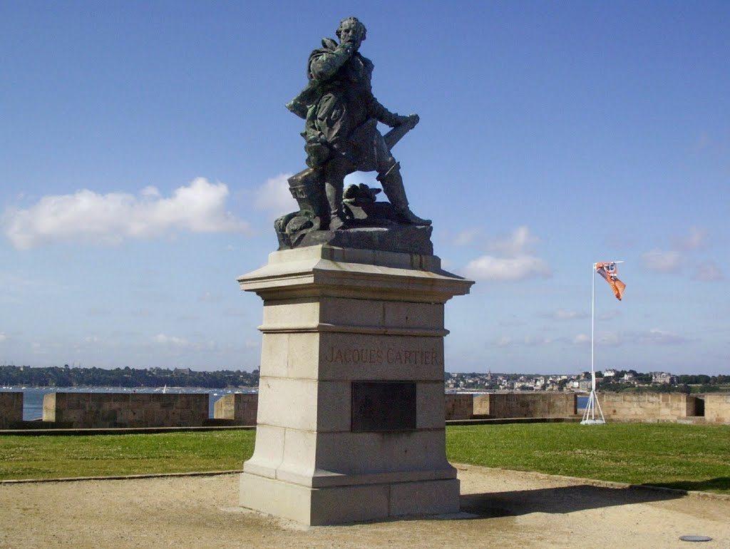 Памятник Жаку Картье в Сен-Мало