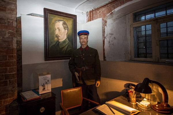 Экспозиция «Следственная тюрьма НКВД» в Томске