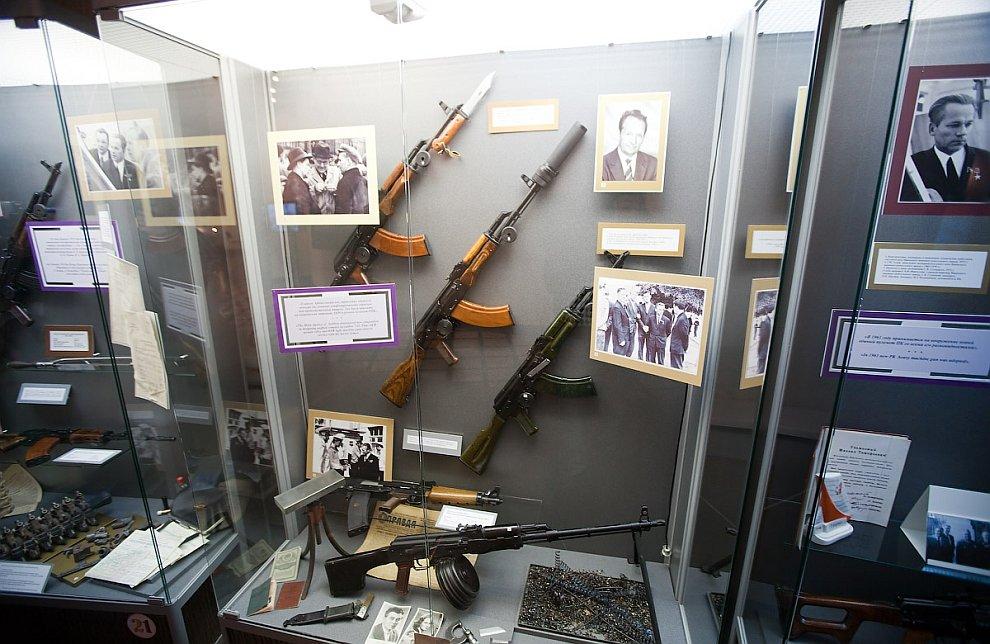 Музей стрелкового оружия в Ижевске