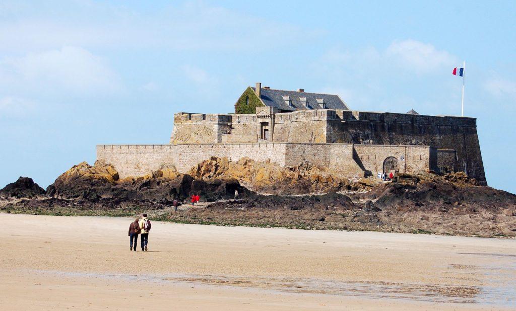 Форт «Насьональ» в Сен-Мало