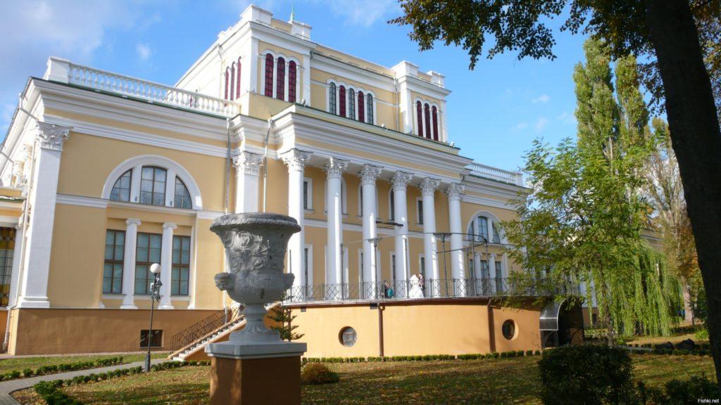 Дворец Румянцевых и Паскевичей в Гомеле