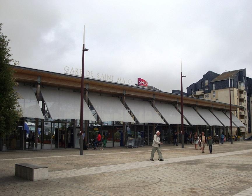 Железнодорожный вокзал Сен-Мало
