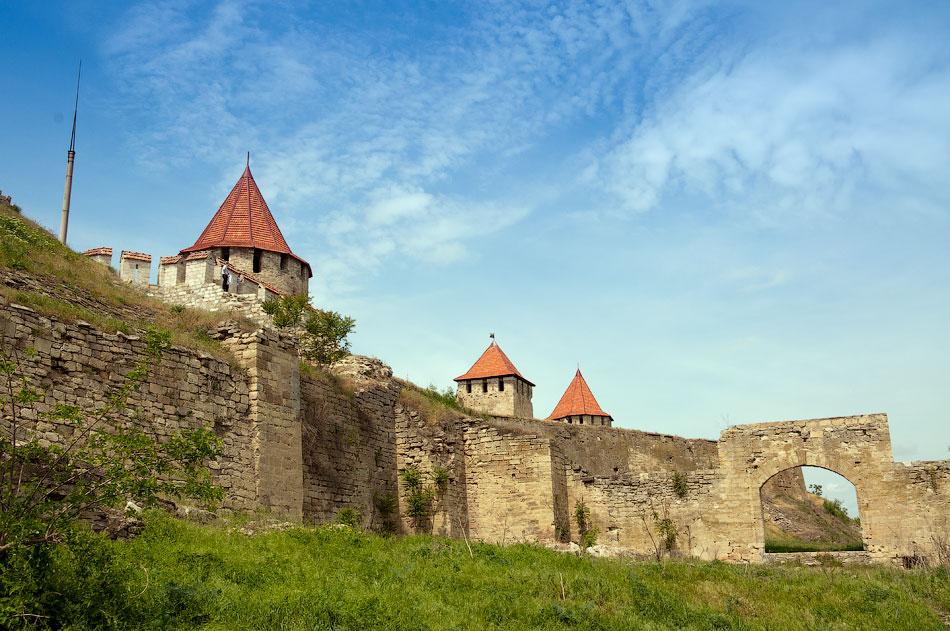 Бендерская крепость близ Тирасполя