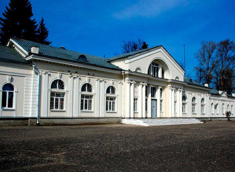 Железнодорожная станция г. Гусь-Хрустальный