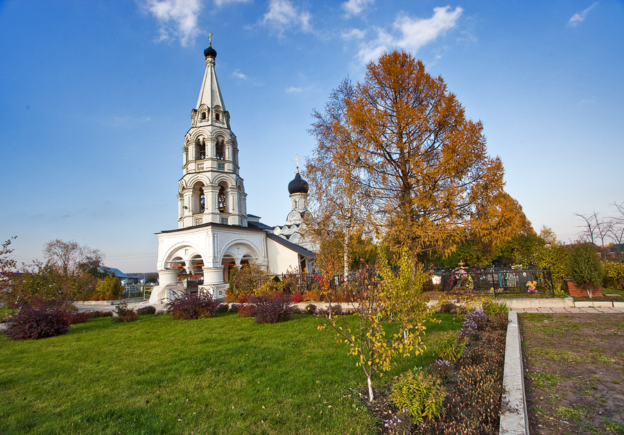 Рождественская церковь в Поярково, Солнечногорский район