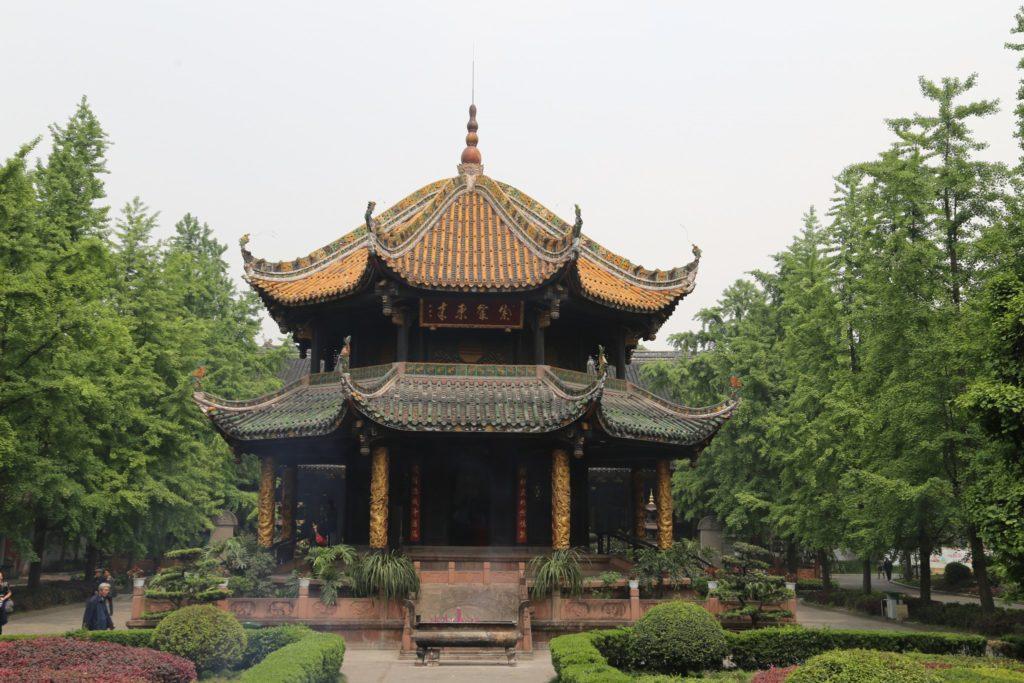 Дворец Циньян в Чэнду