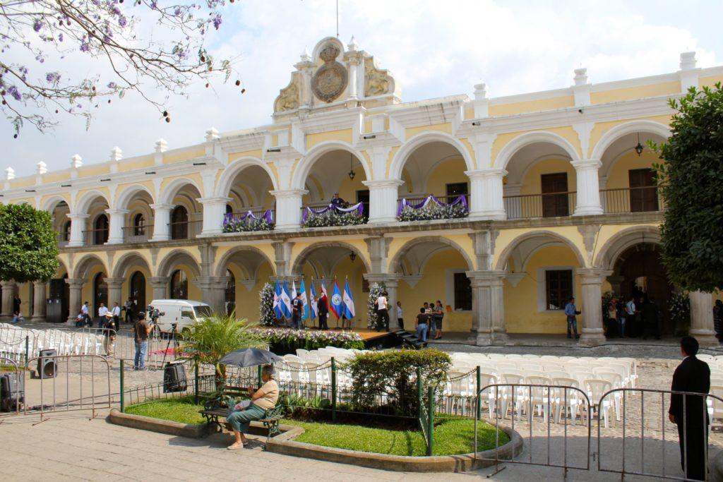 Дворец Капитан-Генералов в г. Антигуа, Гватемала