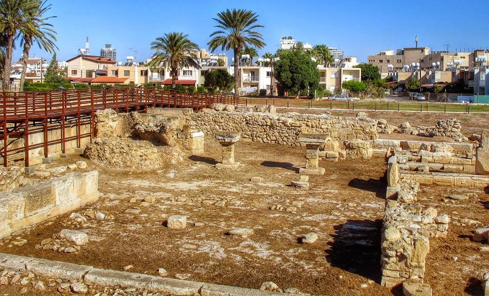 Древний Китион в Ларнаке