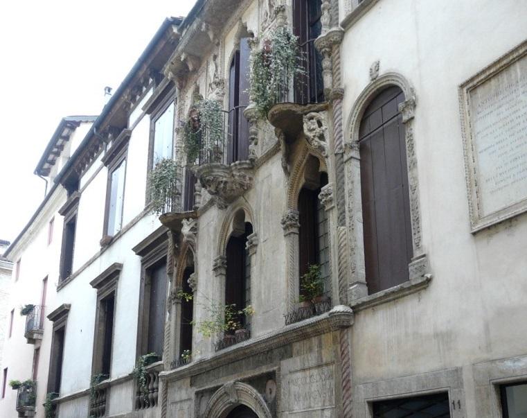 Дом Антонио Пифагетта в Виченце