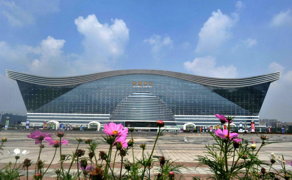Торгово-развлекательный центр «Новый век» в Чэнду