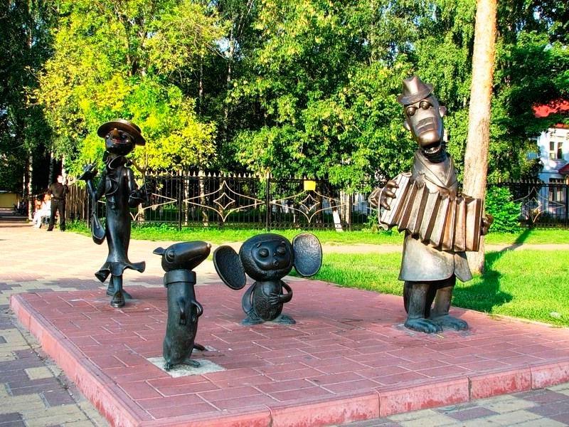 Герои мультфильмов в Раменском