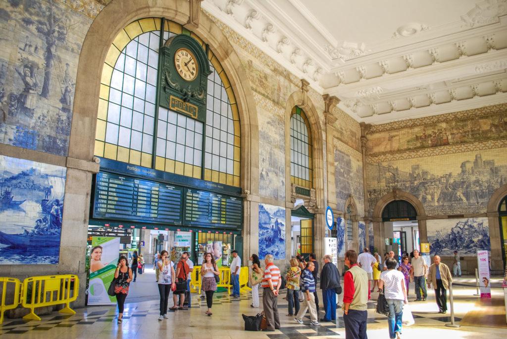 Вокзал Сан-Бенту в г. Порту