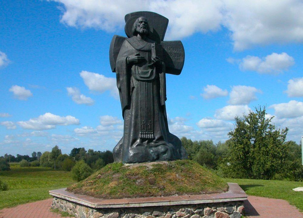 Памятник Кириллу Туровскому в Турове
