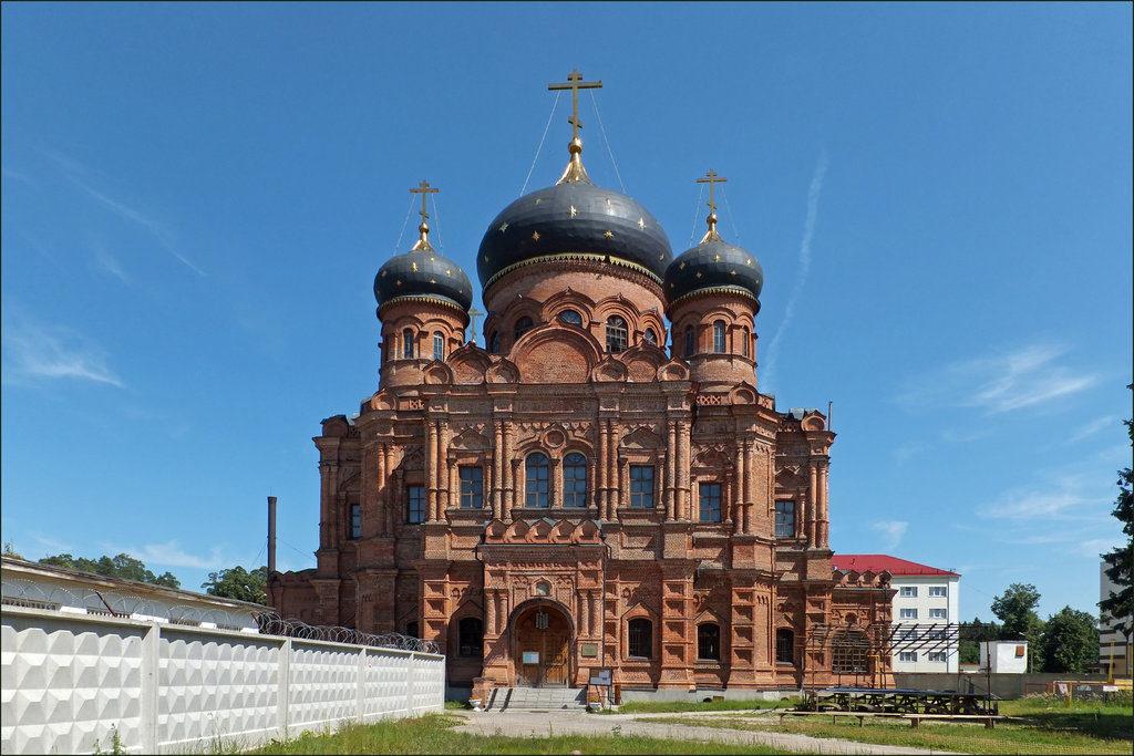 Гуслицкий Спасо-Преображенский монастырь в Орехово-Зуево