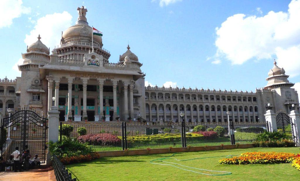 Видхана Соудха в Бангалоре