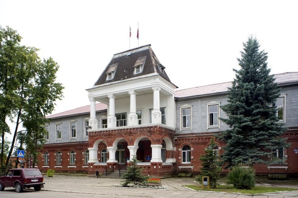 Здание Администрации в Гусь-Хрустальном
