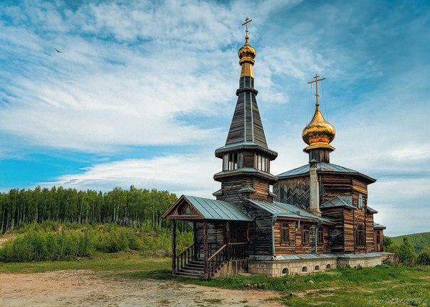 Деревянная церковь Георгия Победоносца в Златоусте
