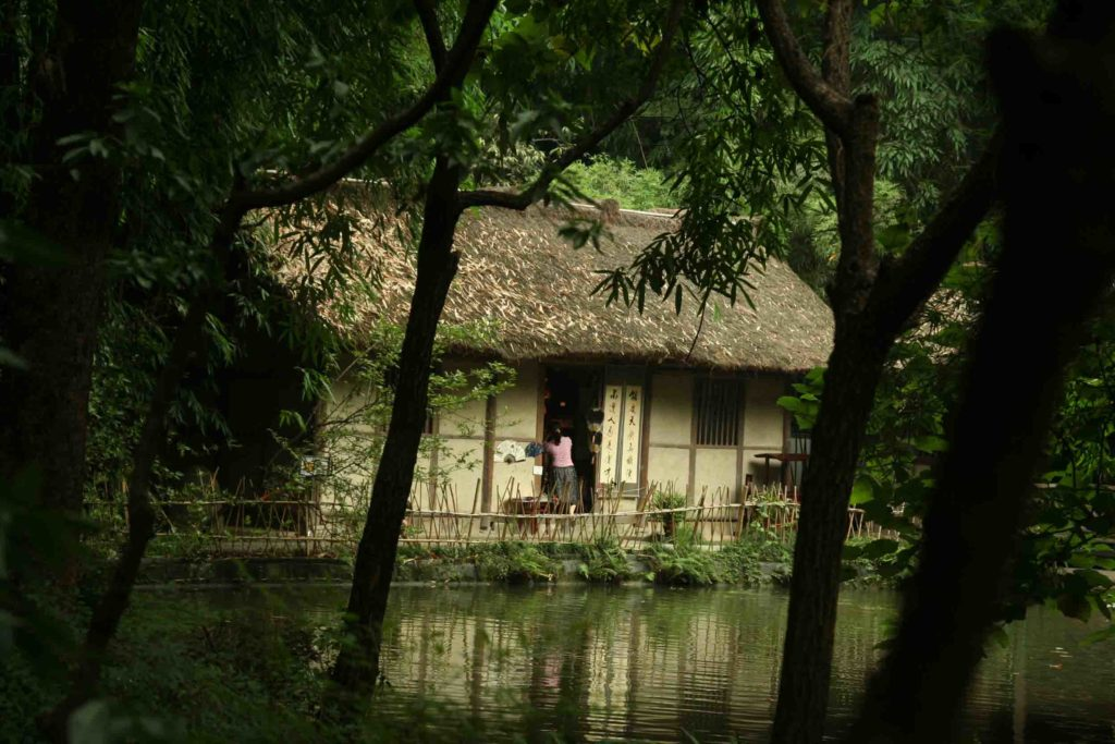 Дом-музей Ду Фу в Чэнду