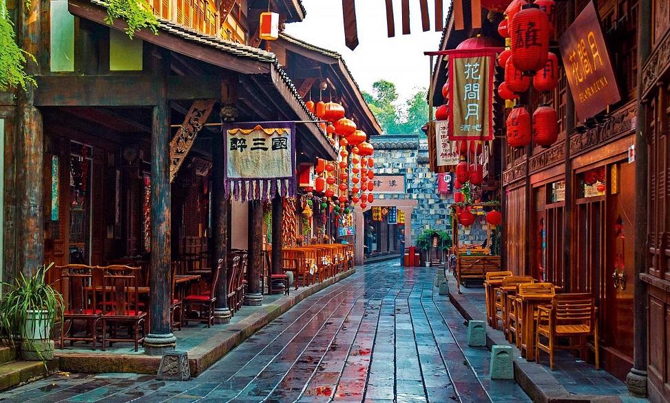 Улица Цзиньли в Чэнду