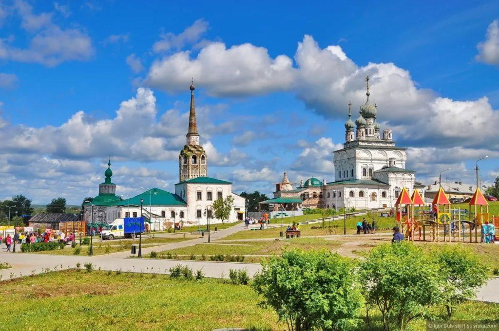 Город Соликамск в России