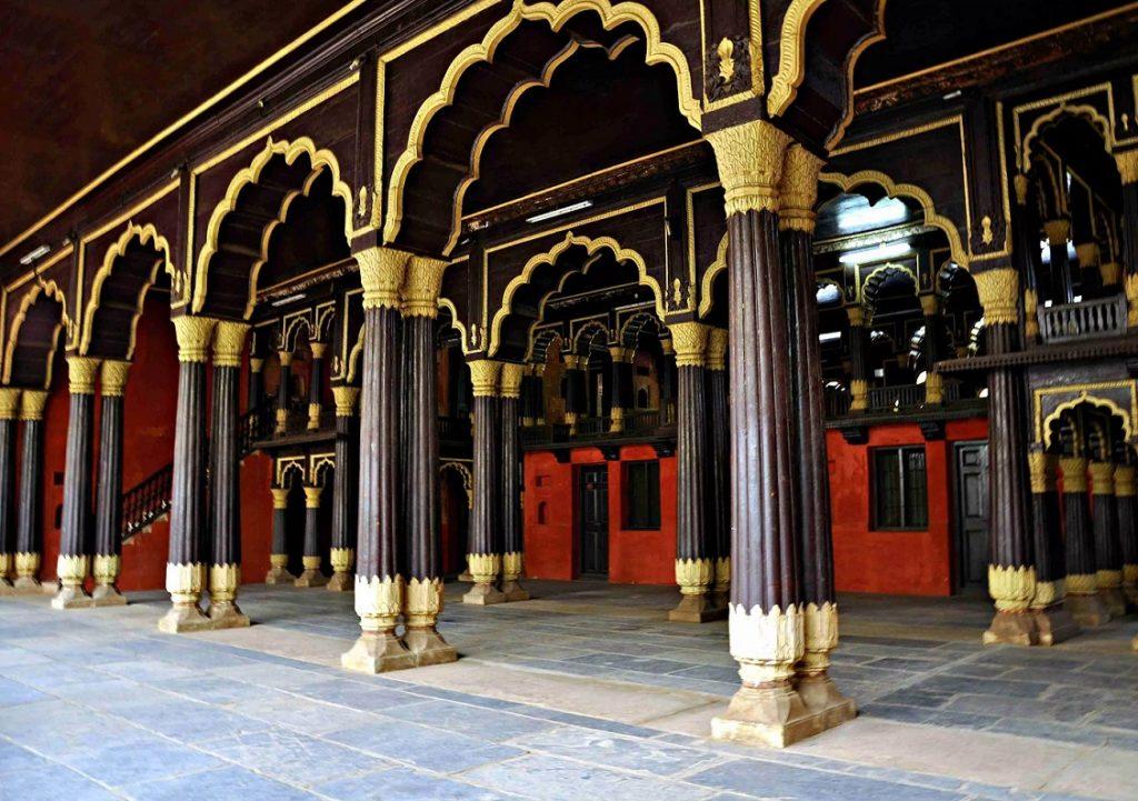 Летний дворец султана Типу в Бангалоре