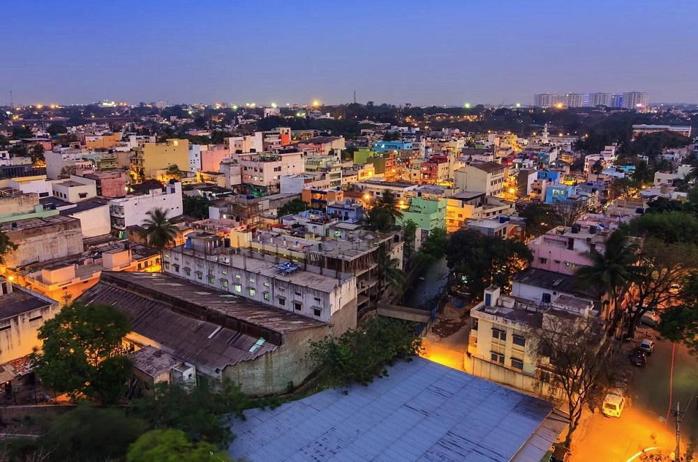 Город Бангалор в Индии
