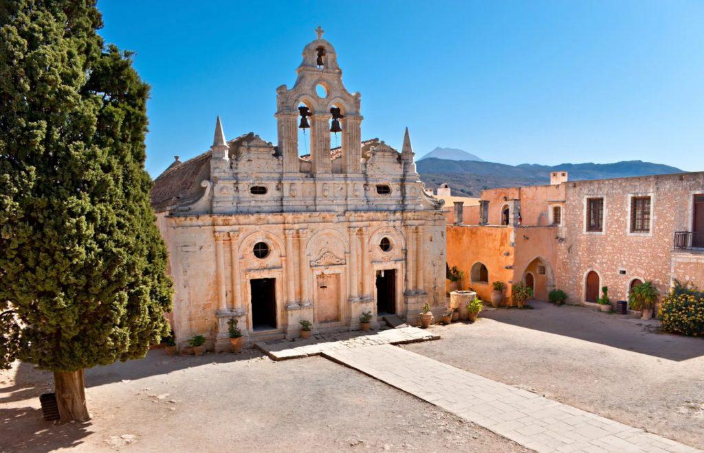 Монастырь Аркадии близ Ретимно