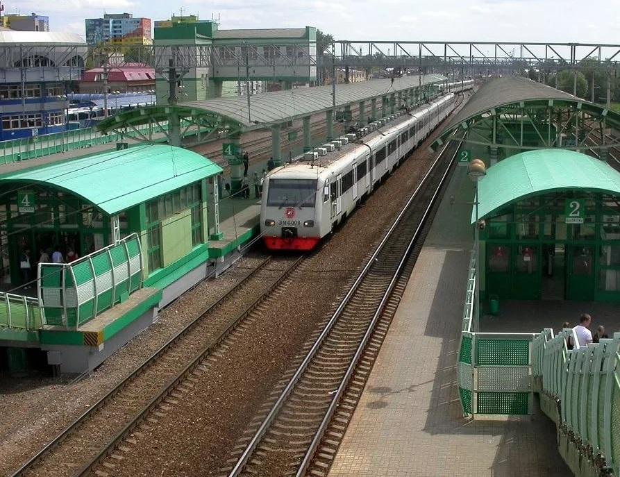 Железнодорожная станция Раменского