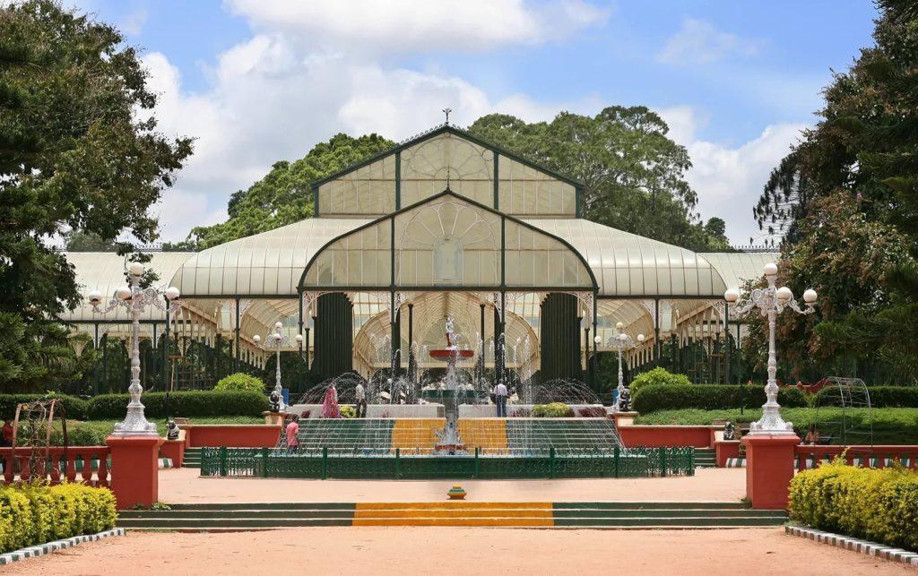 Ботанический сад ЛалБагх в Бангалоре