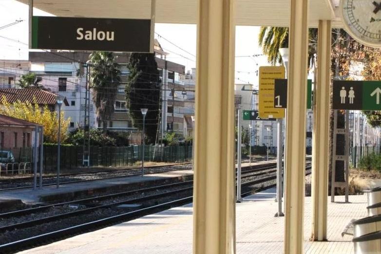 Железнодорожная станция Салоу