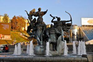 Город Киев в Украине