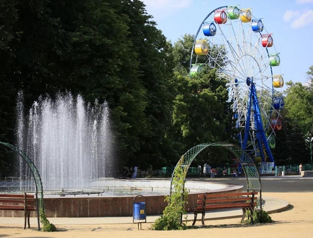 Парк имени Горького в Таганроге