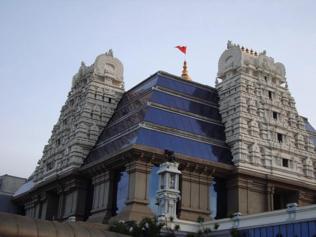 Храмовый комплекс ИСККОН в Бангалоре