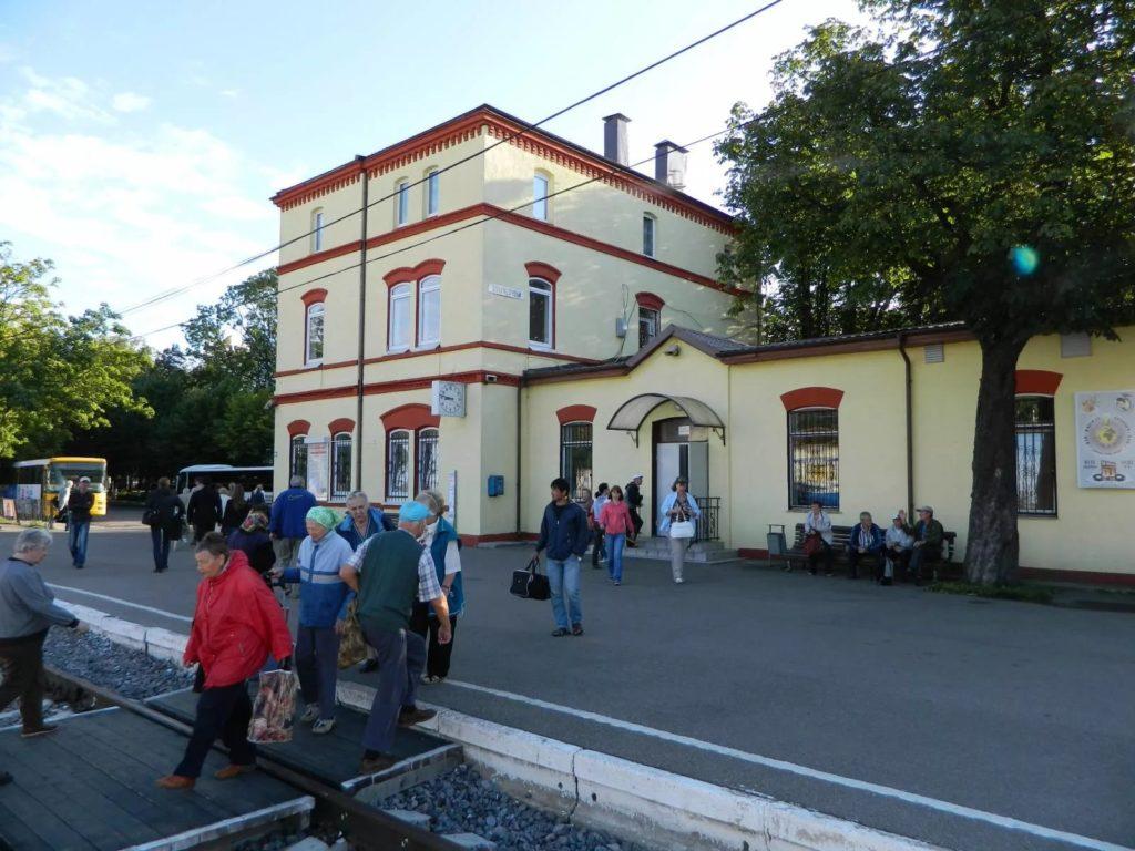 Железнодорожный вокзал Зеленоградска