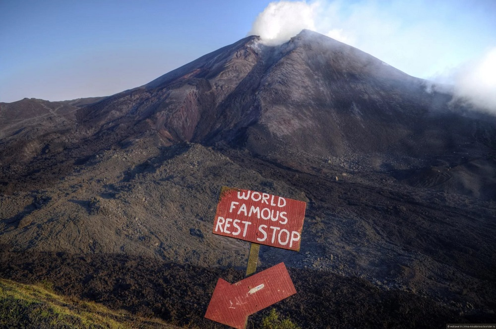 Вулкан Пакайя в Гватемале