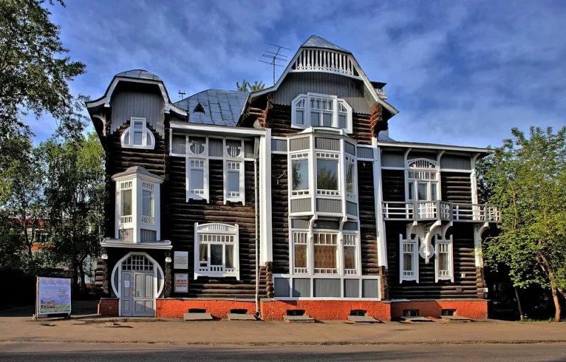 Музей деревянного зодчества в Томске