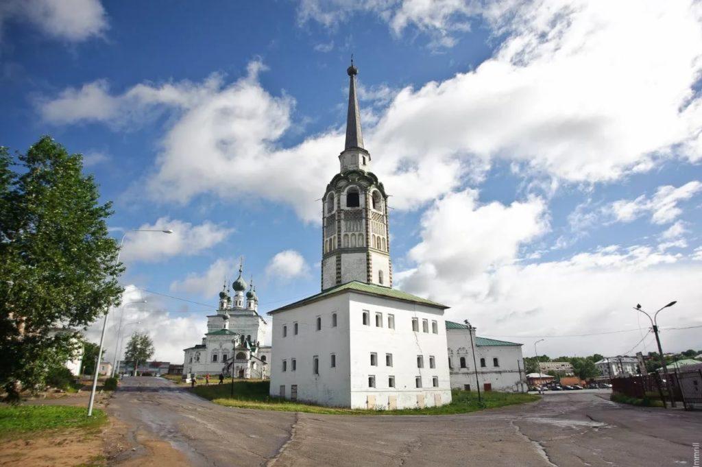 Соборная колокольня Соликамска